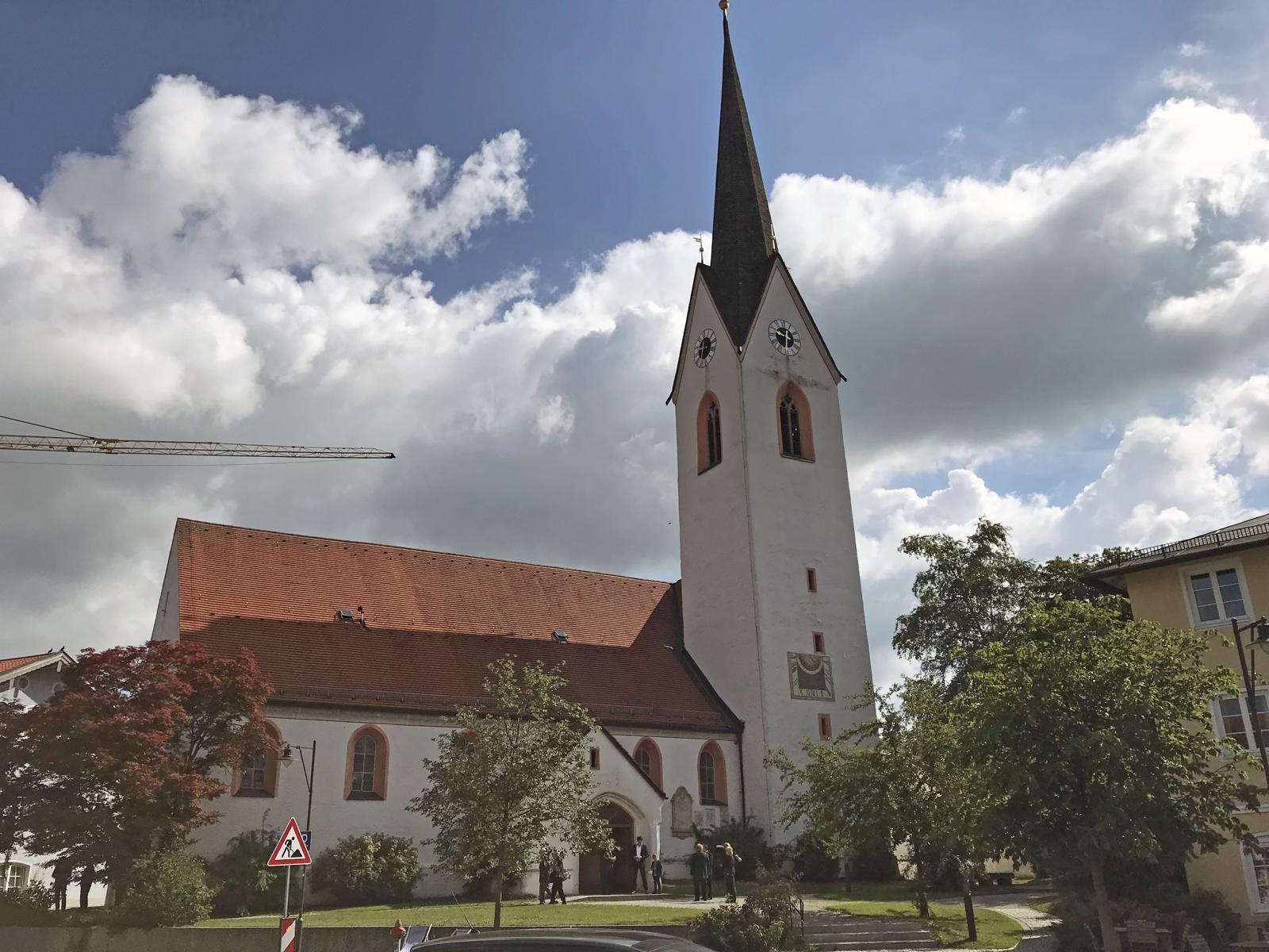 Beerdigung Ehrenvorstand Rupert Sonnenhuber, Amerang (2)