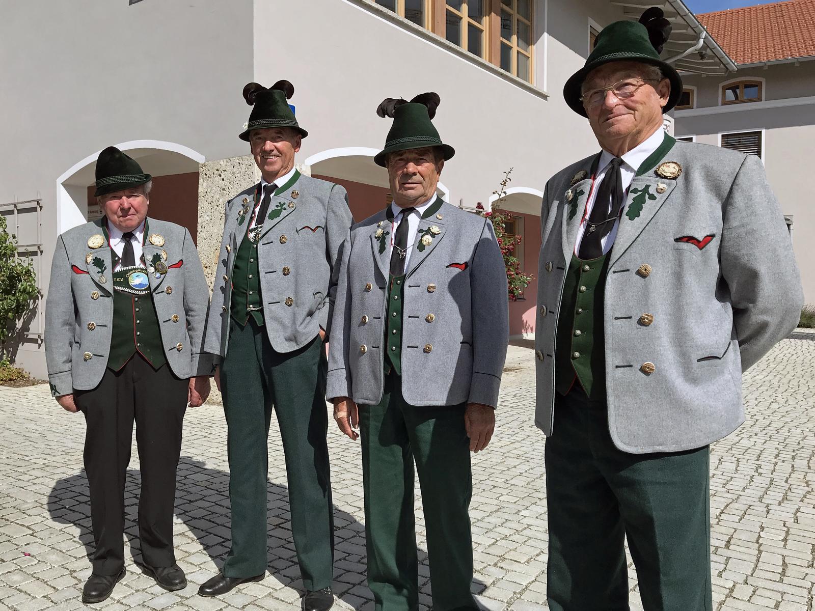 Beerdigung Ehrenvorstand Rupert Sonnenhuber, Amerang (3)