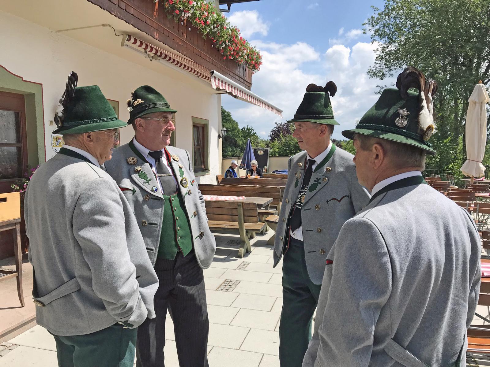 Beerdigung Ehrenvorstand Rupert Sonnenhuber, Amerang (6)