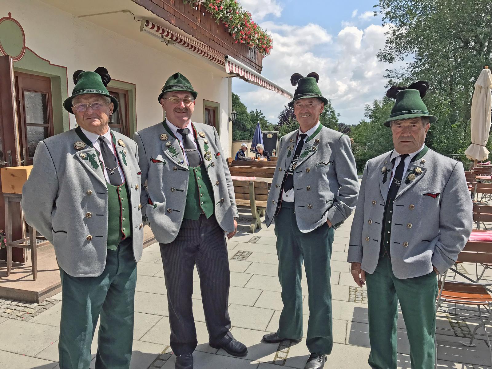 Beerdigung Ehrenvorstand Rupert Sonnenhuber, Amerang (7)