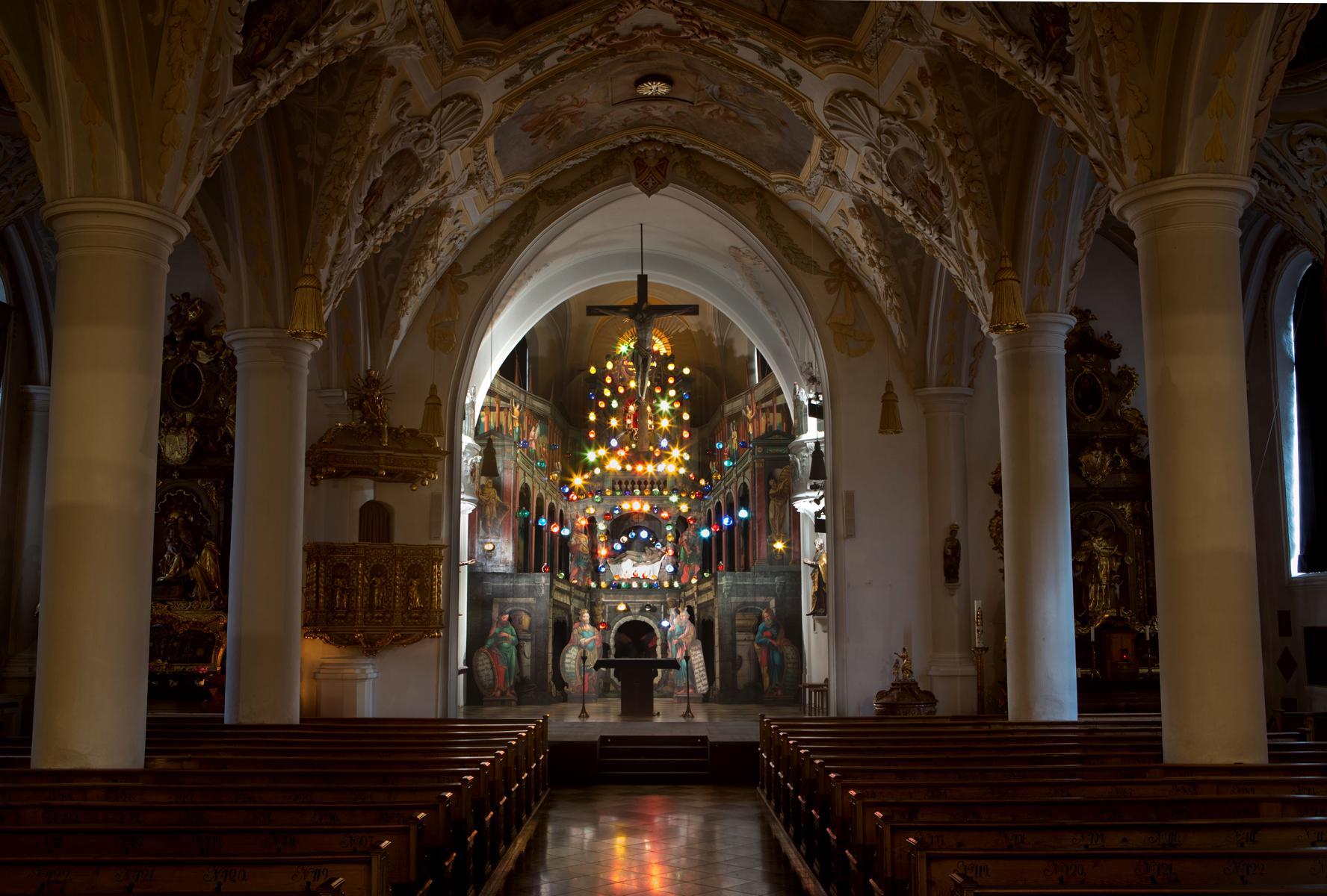 K1600_190308 Pfarrkirche Aschau mit Heiligem Grab 8779_1