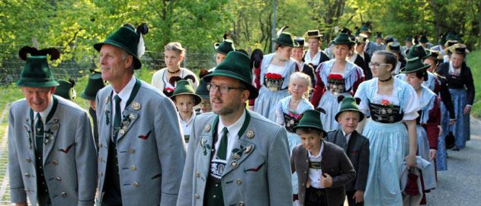 Vereinsjahrtag in Schlosskapelle Hohenaschau